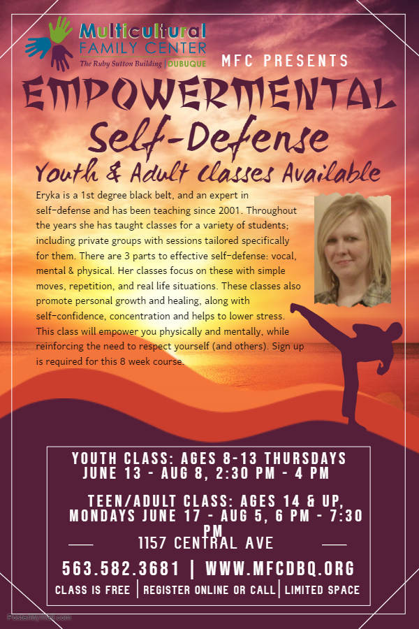 Empowermental Self-Defense Class 2019 | Multicultural Family Center