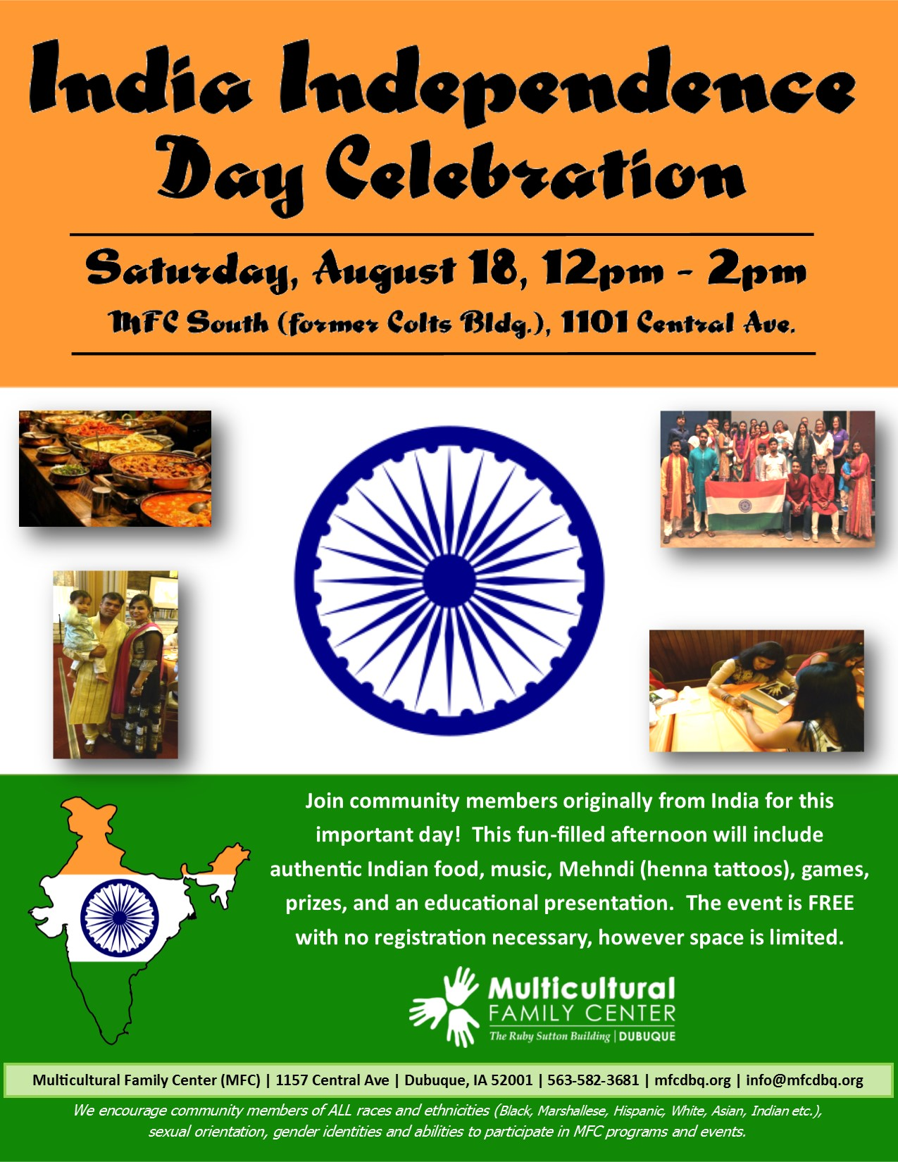 India Independence Day Celebration 2018 | Multicultural
