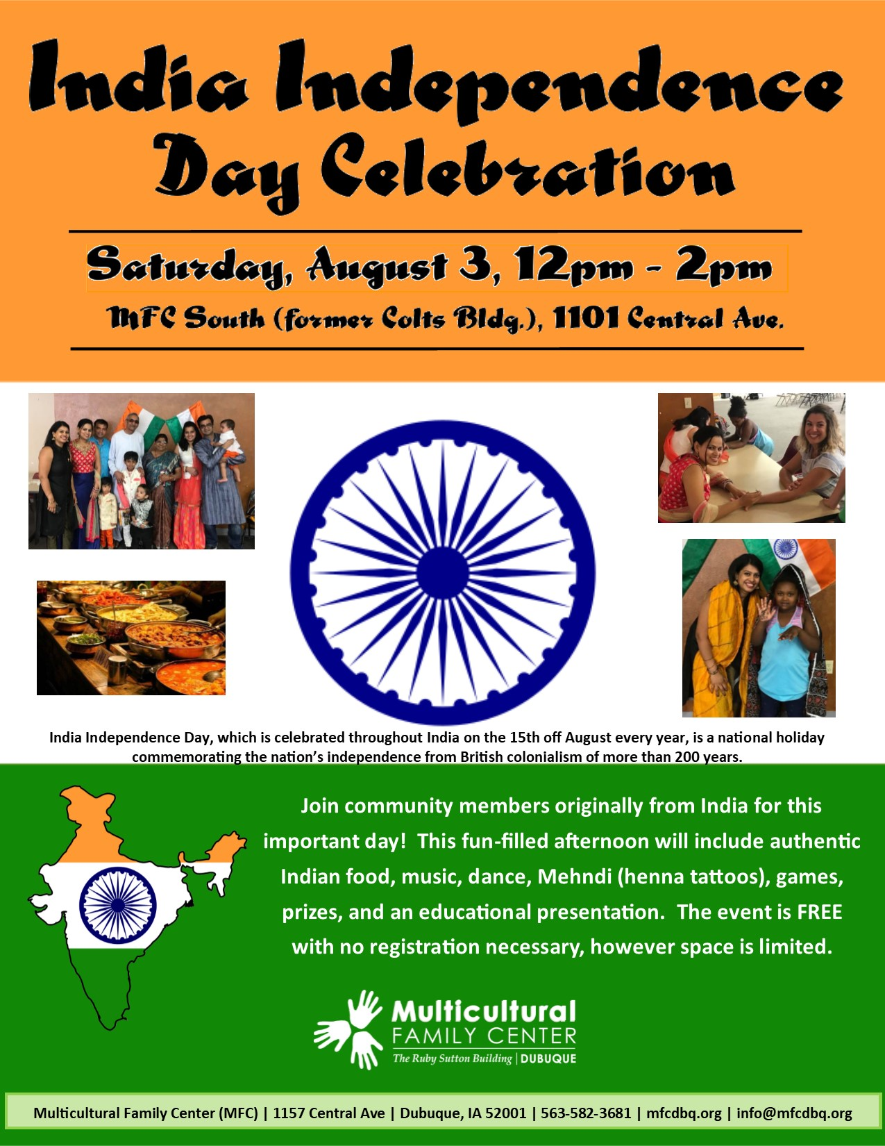 India Independence Day Celebration 2019 | Multicultural