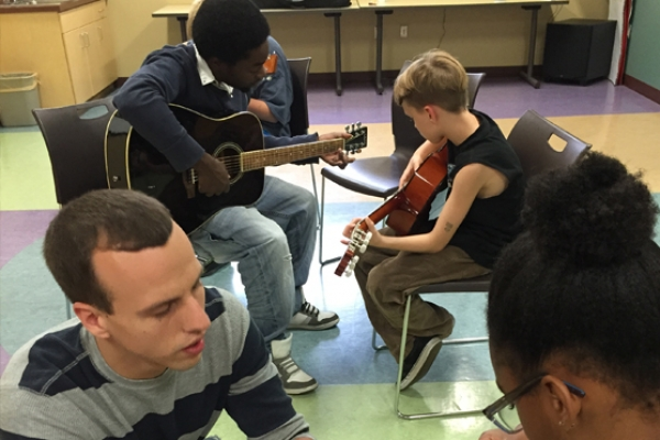 Teaching Guitar Lessons
