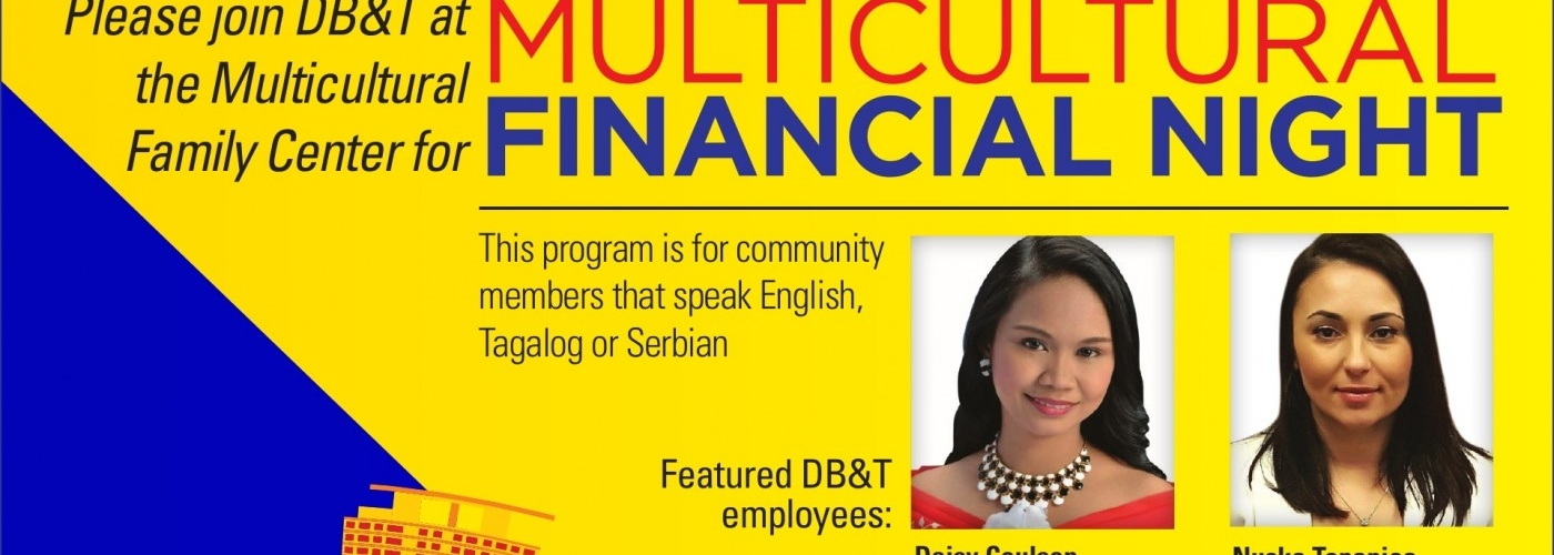 DB&T Multicultural Financial Night